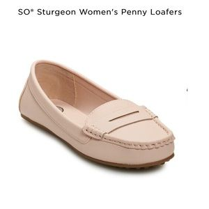 SO penny loafers size 9 NWT in box